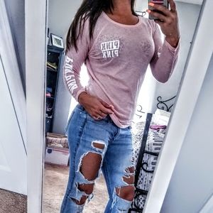 Victoria's Secret PINK》Long Sleeve Shirt
